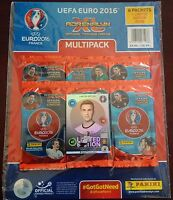 2016 PANINI ADRENALYN EURO 2016 MULTI-PACK  (6 PACKS) 54 CARDS TOTAL + LE GOTZE