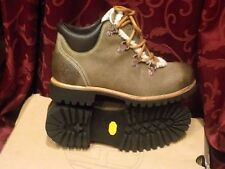 TIMBERLAND EARTHKEEPERS BEIGE DISTRESSED LEATHER ANKLE BOOTS WOOL SIZ AUS 7 NEW