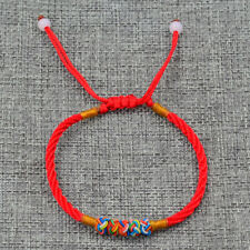 2Pcs Men Women Lovers Red String Thread Adjustable Bracelet Lucky Jewelry New