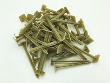 Landscape Garden Fabric Pins Stakes - 50 Pack - Recycled Plastic HDPE Anchors