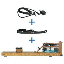 WaterRower Rudergerät Esche, inkl. S4 Monitor, Herzfrequenzempfänger und Brustgu