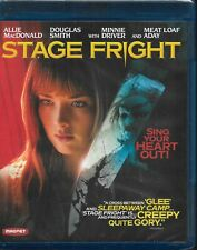 Stage Fright On Blu- Ray Horror Movie  New Sealed w/ Free Shipping
