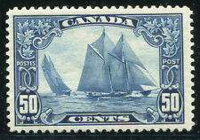 CANADA #158 VF Light Hinged Issue - Bluenose Schooner - S8023
