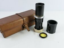 RARE VINTAGE ROSS TELE-NEGATIVE  LENS SET CASED