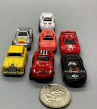 MC Toy Micro Size Die Cast Cars Lot Of 7,  No Duplicates! Made In Macau