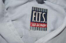 mens pre-owned long sleeve shirt by sax altman.colour pale blue.