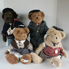 Set of 4 Boyds Bears Civil War Exclusive 14in Plush - Mason, Dixon & Wives