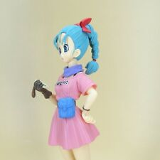 "DragonBall Z DBZ bulma PVC FIGURE Statue 7"" loose without box #d3"