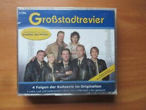 Großstadtrevier - 4 Folgen der Kultserie im Originalton - Hörbuch zur Serie
