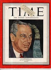 1945 Time September 24 - G M starts up again; Japan is occupied; German Refugees