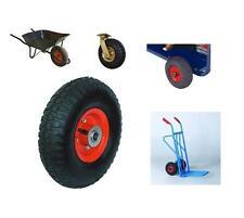 "10"" Red pneumatico e ruota per carrello per sacchi camion carriola carrello Barrow"