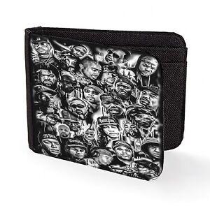 90s gangster rap wallet credit card classic art print dre easy biggie cube ren