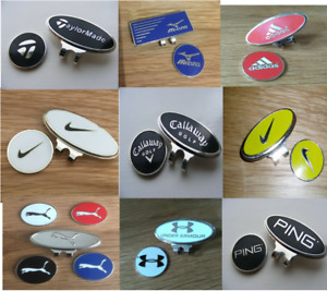Magnetic golf ball marker - Also available Marker and hat clips set