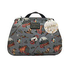 Loungefly Harry Potter Relics Tattoo All Over Print Crossbody Bag Purse NEW Bag