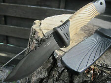 2 in 1 HERBERTZ Outdoor Messer Survival Anglermesser Gürtelmesser Arbeitsmesser