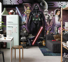 Gran Foto Wallpaper Mural Póster Darth Vader Star Wars Decoración Habitación Niños 368x254