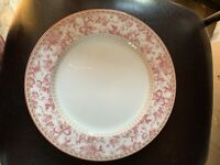 """MINT 10 3/4"""" Royal Doulton Studio Provence Rouge Dinner Plate Red/pink Multiple"""