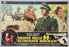 FOTOBUSTA 3, ORDINE DELLE SS: ELIMINATE BORMAN, BARDEM, PERCHY, GUERRA, NAZI