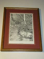Virginia Stelzig Signed Limited Edition Appalachian Woods Framed Print