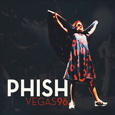 Phish Vegas 96 CD/DVD Box Set (3) CD Plus Bonus DVD Limited Edition New Sealed