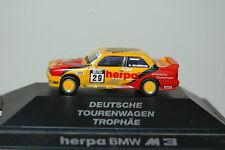 Herpa PC Modelo BMW M3 Alemán coche turismo 1:87 (102)