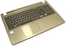 Acer Aspire V5-572P-4429 15.6 Genuine Silver Palmrest Keyboard Touchpad Speakers