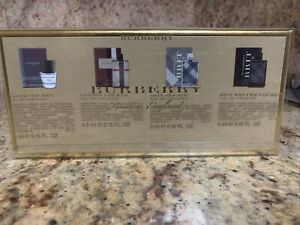 Burberry The Travel Collection Miniature Gift Set For Men