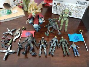 Joyride Halo 2 and Loose McFarlane Halo Action Figures lot
