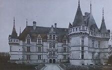 Château d'Azay-le-Rideau, France, Magic Lantern Glass Photo Slide