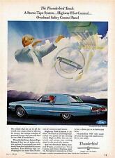 Old Print.  1966 Ford Thunderbird Town Hardtop - Automobile