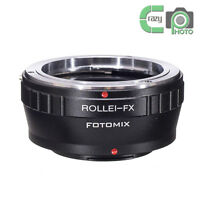 QBM-FX for Rollei SL 35mm Lens to Fujifilm X-Pro1 X-E1 X-E2 X-M1 X-A1 X-T1 X-T2