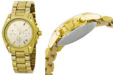 Burgmeister Women's Analogue Quartz Watch with Stainless Steel Gold Plated Strap