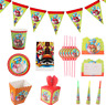 New Super Mario boys birthday party decoration kids theme Disposable tableware