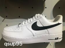 Nike Air Force 1 Low White Black AN20 CJ0952 100 Mens Womens GS Size 4Y-13 New
