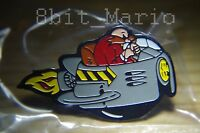 Sonic the Hedgehog Dr Professor Robotnik SEGA Rare Promo Enamel PIN BADGE Pins