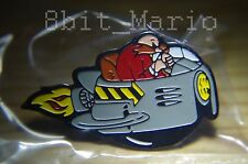 Sonic the Hedgehog Dr Professor Robotnik SEGA Rare Promo Enamel PIN BADGE Pins