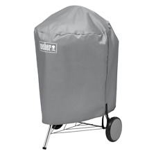 Weber Charcoal Kettle Grill Cover Storage Outdoor All Weather Fabric 22 inch
