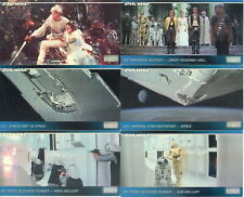 STAR WARS A NEW HOPE WIDEVISION 1994 TOPPS FINEST COMPLETE BASE CARD SET OF 120