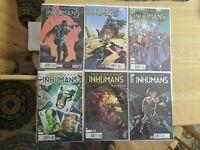 Uncanny Inhumans - Complete full run - 0 - 20, Annual, 1.MU and Inhumans Prime