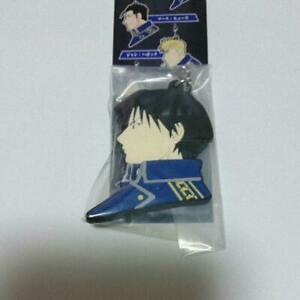 SQUARE ENIX FULLMETAL ALCHEMIST Roy Mustang 5cm key chain ring Japan anime 022