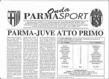 1995 UEFA Cup Final 1st Leg - PARMA v. JUVENTUS (Onda Parma Sport issue)