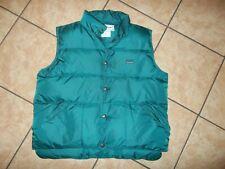 vintage L.Lbean goose down vest men sz SM