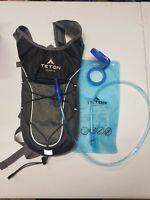 Teton Sports TrailRunner 2.0 Hydration Pack w/ Water Bladder Black & Grey