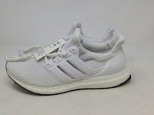 Adidas Men's UltraBoost Ultra Boost 4.0 Running Shoe White/White/White Size 12US