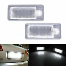 2x Canbus License Number Plate LED Light For Audi A6 C6 S6 A4 S4 B6 B7 A8 S8 A3