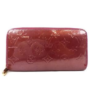 LOUIS VUITTON Pomme d'Amour Zip Around purse Bill Compartment Coin Pocket Zi...