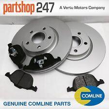 Genuine Comline Ford Kuga MK1 2008-2012 Front Brake Discs & Pads Kit with 300mm