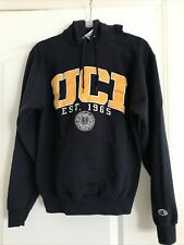 Uci Vintage Blue Champion Eco Hoodie 1965 Embroider Small Irvine Anteater