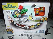 MEGA Bloks Minion STATION WAGON auto per la fuga - 188pc Set di costruzione