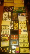 BIG coin LOT collection watch JEWELRY MINT sets 40% SILVER & GOLD+NO JUNK DRAWER